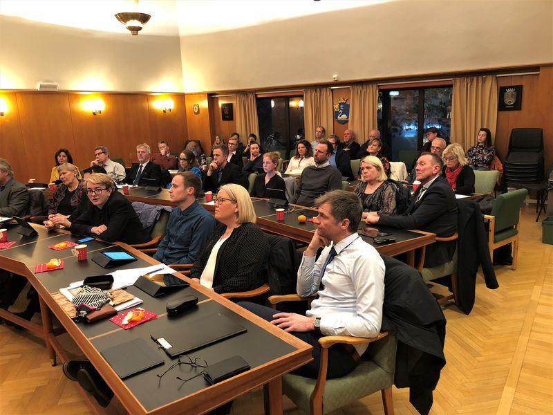 Kommunestyret vedtok budsjettet for 2020 i sitt møte torsdag.
