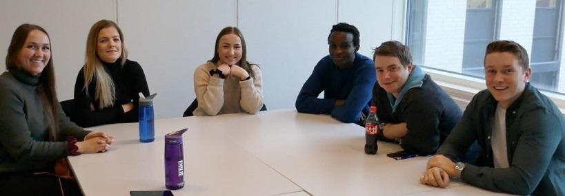 aspiranter samlet i basisgruppe ved KRUS