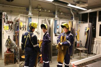 3 TPA elevar på verkstaden