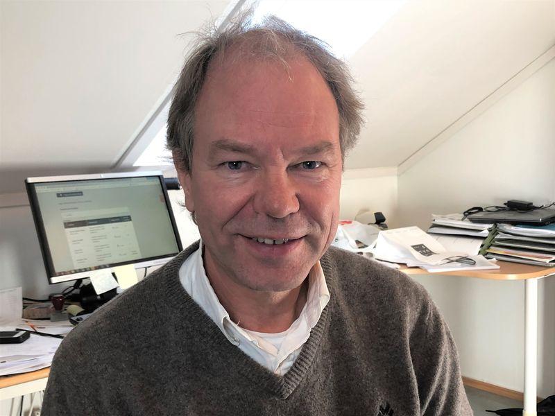 """""""Land i sikte"""", sier Per Kjetil Dalane og mener vi nærmer oss mål etter den lange pandemi-reisen."""