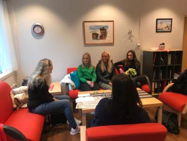 Samarbeidsmøte Fjordenes Tidende og Studiespesialisering