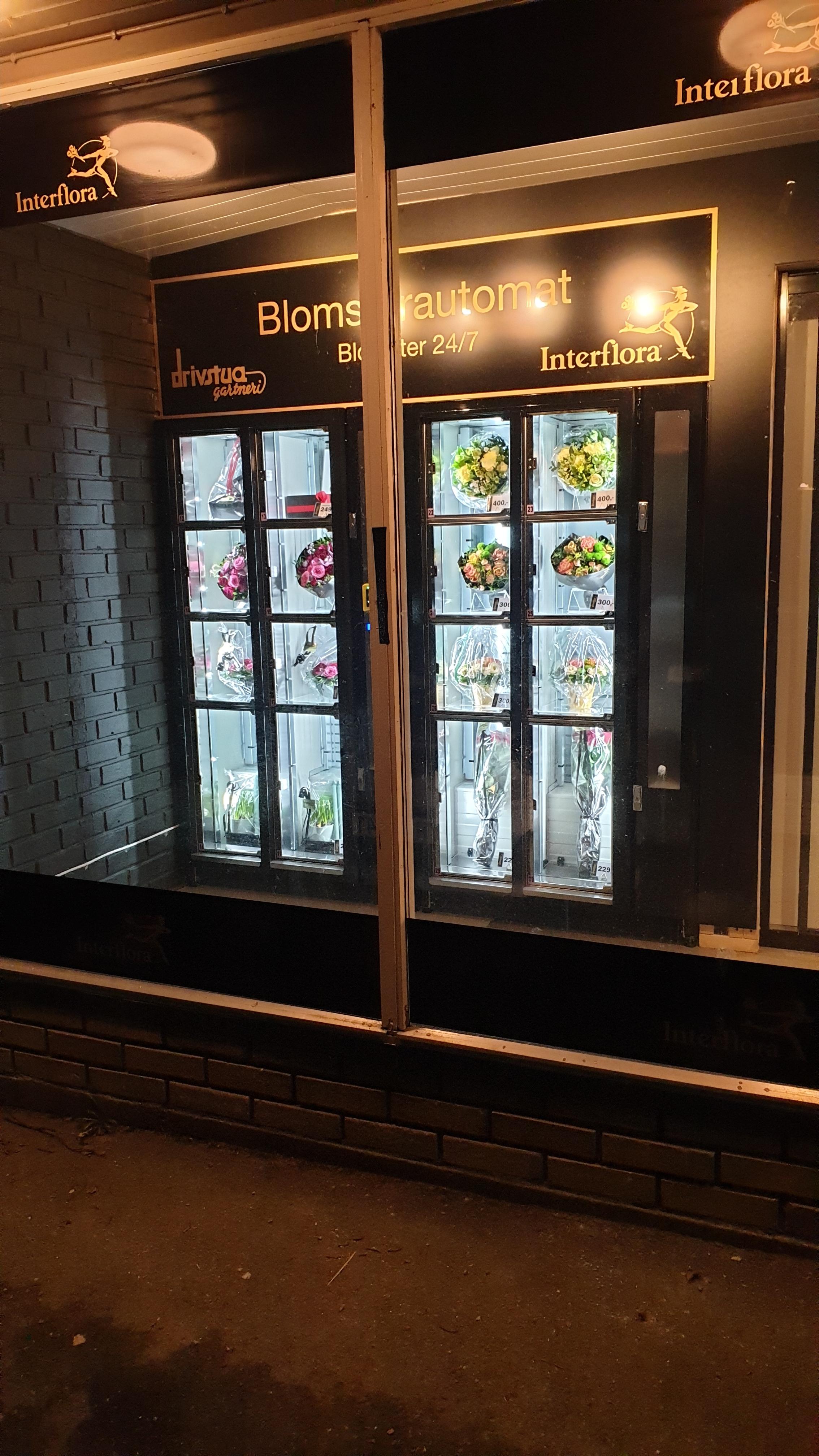 Blomsterautomat