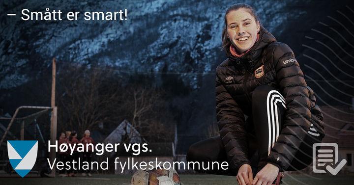 Miriam Isabella Meel Skår har opplevd at den faglege tilnærminga til idrett gjer at ho tek treningsarbeidet meir seriøst.
