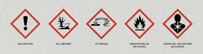 Farleg avfall symbol