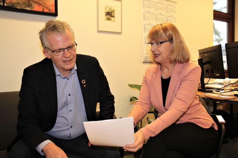 Svein Skisland og Heidi Engestøl