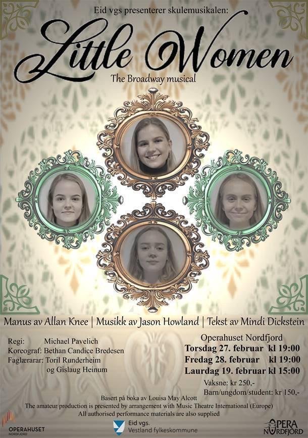 Musikalplakat Little Women