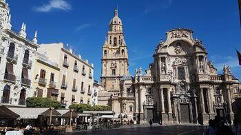 Katedralen i Murcia  Foto: Johanne Elisabett Sørdal