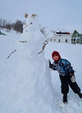 Simon og snømannen_Tine Marie V Hagelin