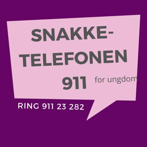 Snakketelefonen 911