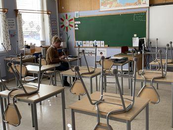 ensom lærer