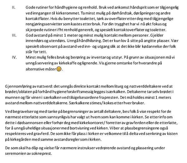 Tana og Nesseby menigheter info vedr forebyggende tiltak ved reåpning av kirker_Side_2[1]_600x523.jpg