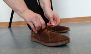 Knytte sko