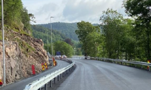 Gang- og sykkelsti Rødberg - Snik