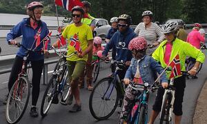 tester sykkelstien