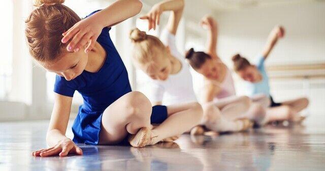 Barn danser ballett