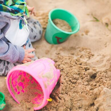 sand summer outside playing