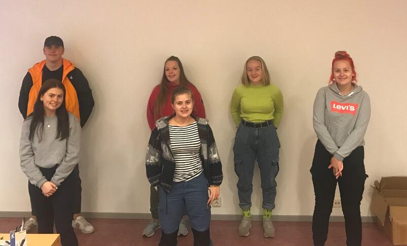 ungdommar i elevrådet