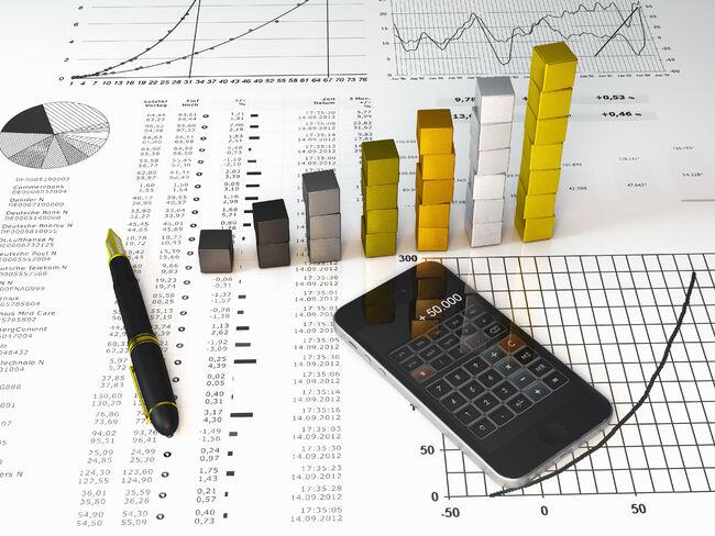 økonomirapport bilde