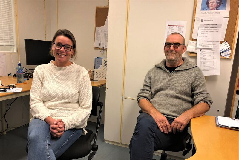 Therese Kapstad og Ole Kristian Mykland