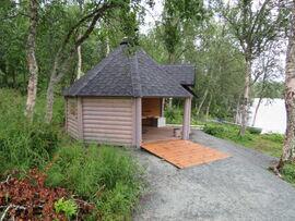 Grillhytta på Skrivarholmen sto ferdig i 2020. Foto: Toril Skoglund