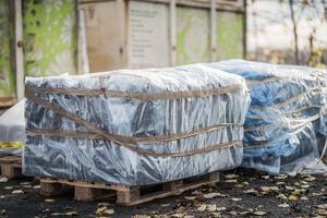 Asbesthaldig materiale skal pakkast godt inn før levering