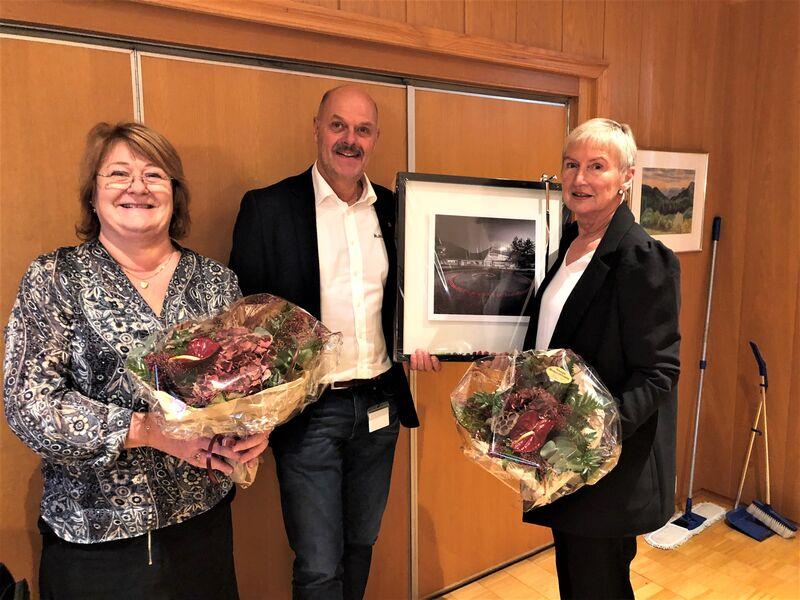 Fra venstre: Evelyn Honnemyr, Nils Olav Larsen og Inger Johanne Robstad.