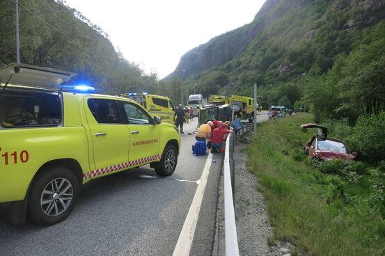 Trafikkulykke