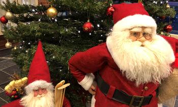 Julenissar ved Hafstad vgs. Foto: Mona Fossdal