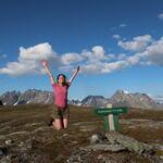 Skulvavatnet ligger på 714 moh. Foto: Kim Harry Hansen