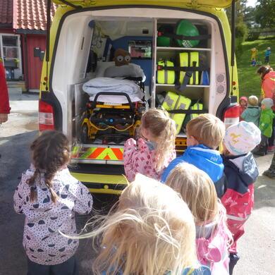 Pulverheksa ambulanse