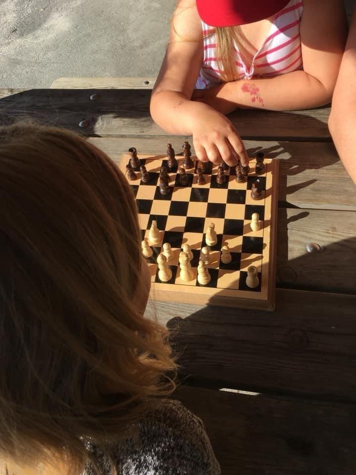 sjakk ute
