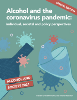 Alcohol and the coronavirus front page