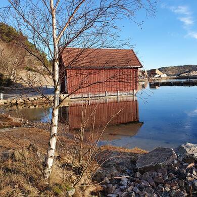 Krabbefiskeplass Båly gamle havn