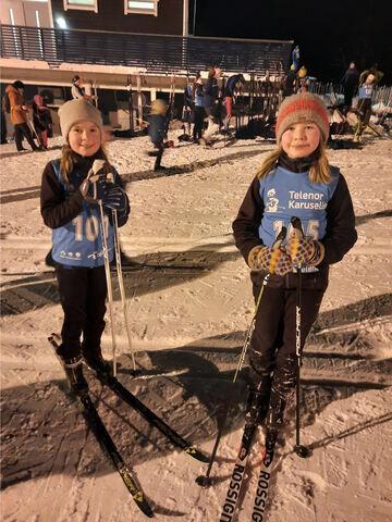 glade skiløpere