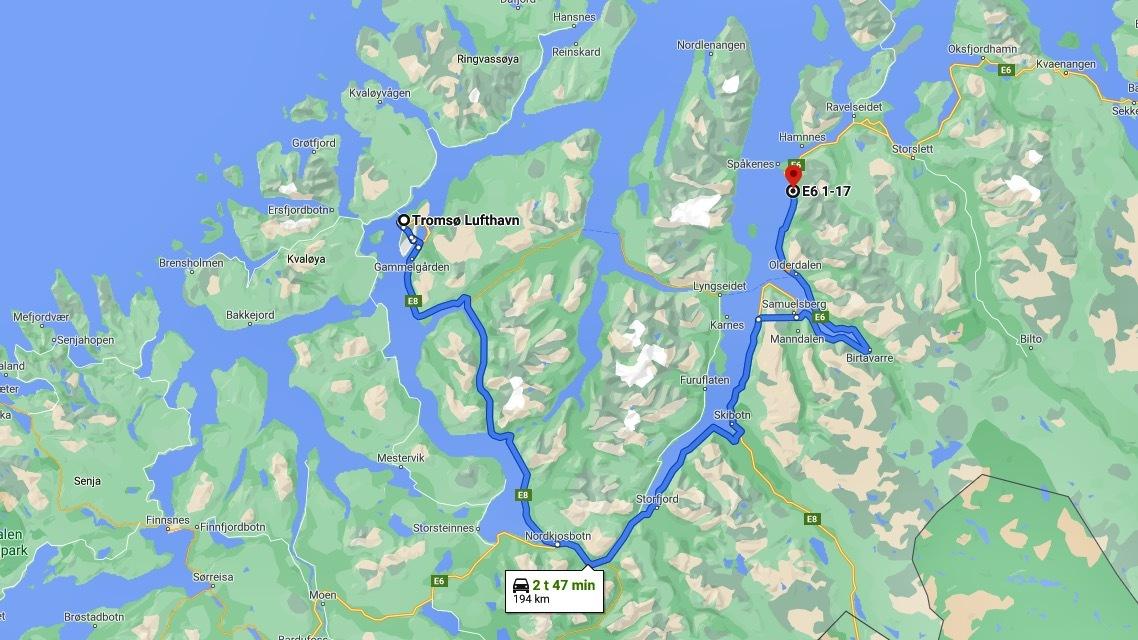 Kjørerute fra Tromsø rundt fjorden.jpeg