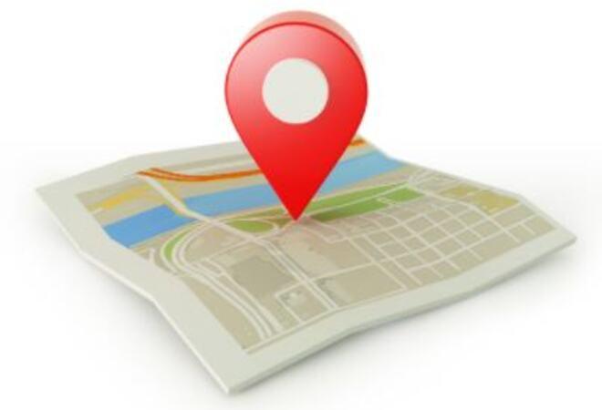 kart med punkt