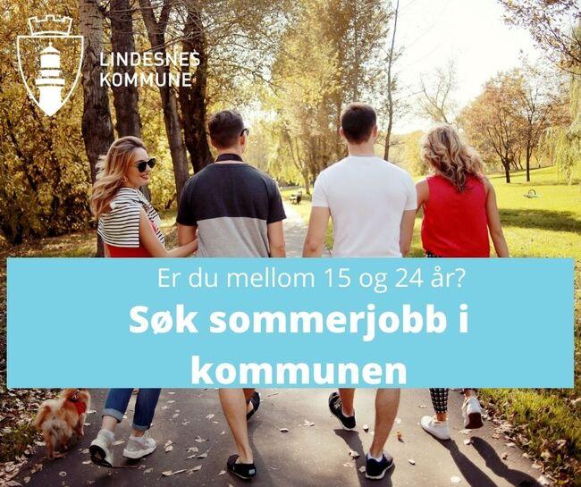 Søk sommerjobb i kommunen