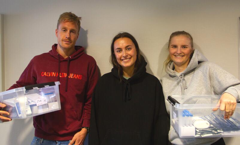 Bilete av Roger Pollen, Julie Årøy og Sara Felde Liljedal