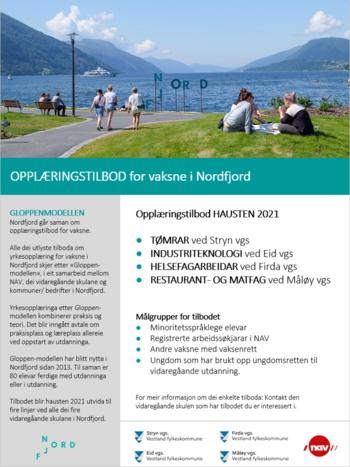 Nordfjord opplæringstilbod vaksne_2021