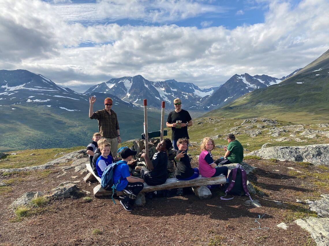 Friluftsskolen på Oksen i 2020. Foto: Lise Grønvoll