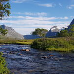 Skipsfjordelva i Skipsfjorddalen. Foto: Laura Bunse