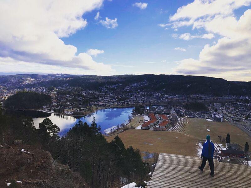 Utsikt fra Rampa. Foto;: Knut Knudsen Eigeland