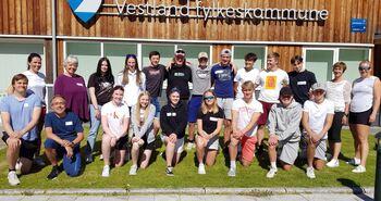 Elevmentorar skuleåret 2021/2022  Foto: Stryn vgs