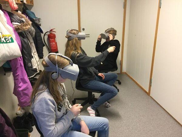 Bruk av VR briller