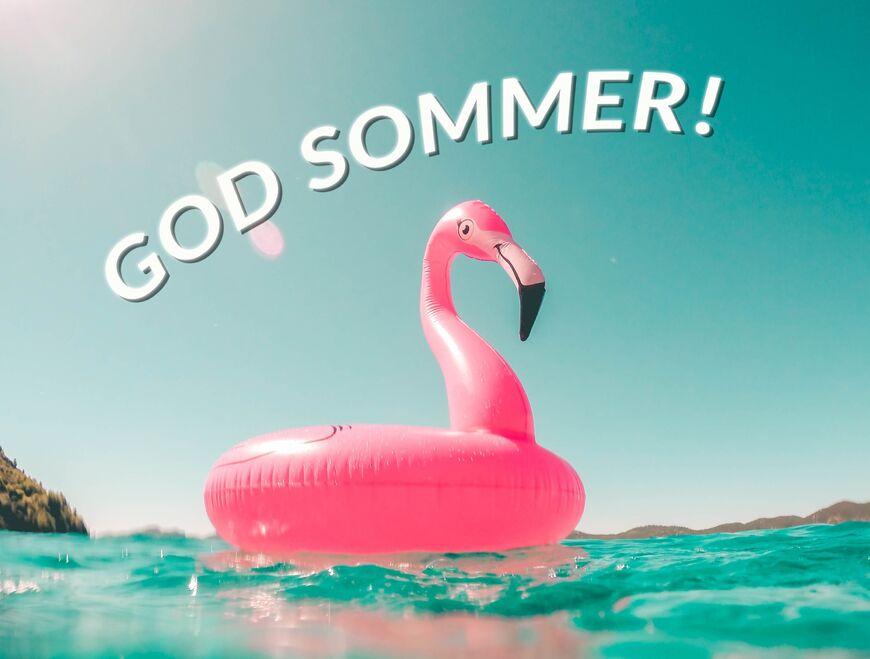 God-sommer-badeflamingo