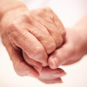 eldreomsorg - hånd