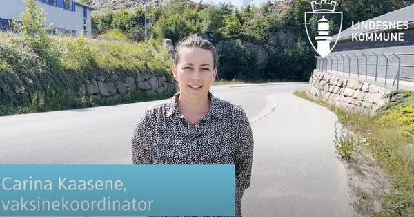 Vaksinekoordinator Carina Kaasene