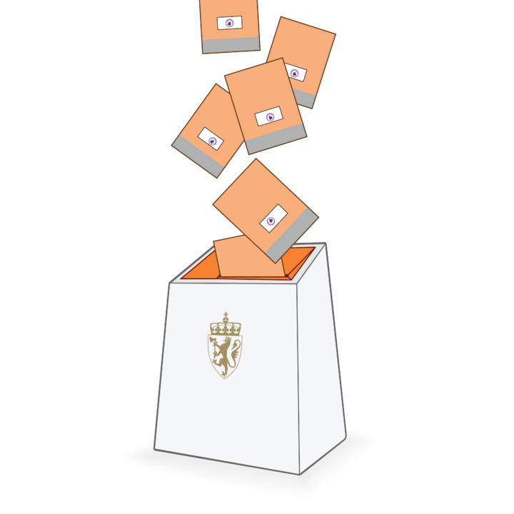 Bilde av valurne
