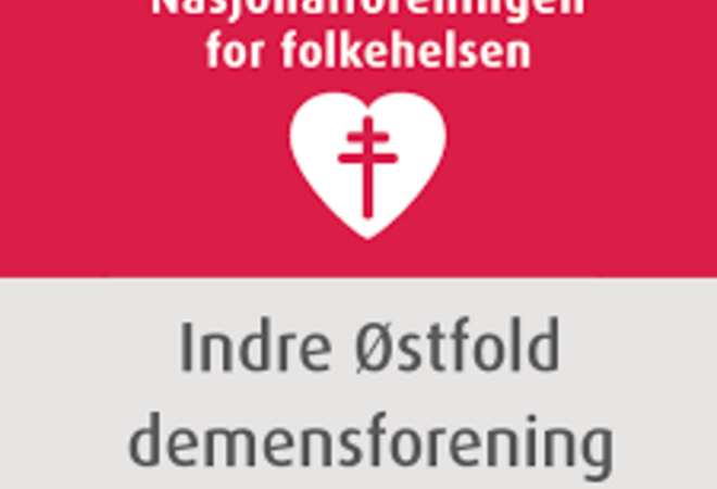 Logo Indre Østfold demensforening