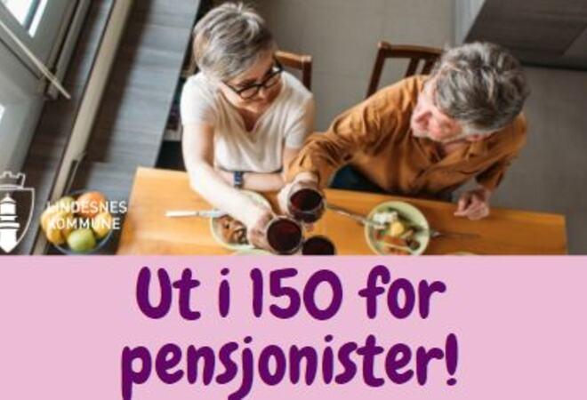Ut i 150 for pensjonister bilde
